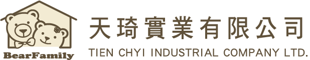 Professional Manufacturer and Exporter of Stuffed Toys, Plush Animals and Teddy Bears | TIEN CHYI INDUSTRIAL COMPANY LTD. | Company Logo